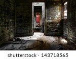 Old Train Interior