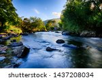 Afon Glaslyn In North Wales ...