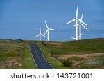 coal clough wind farm burnley ... | Shutterstock . vector #143721001