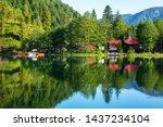 Borcka Black Lake is in Artvin city. - Image