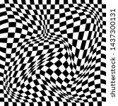 Distorted Checkered Optical...