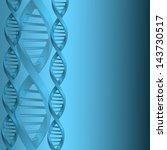 dna molecule structure... | Shutterstock . vector #143730517
