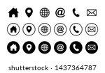 web icon set. website set icon...   Shutterstock .eps vector #1437364787