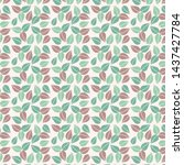 surface pattern with hand drawn ... | Shutterstock . vector #1437427784