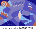 Abstract Composition With The...