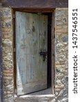 A Beautiful Rustic Wooden Door...
