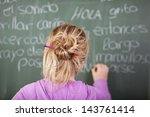 Female Student During Spanish...
