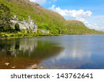 Kylemore Abbey Lake And...