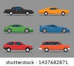 detailed illustration of six... | Shutterstock .eps vector #1437682871