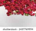Red Potpourri On White...
