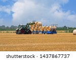 Agricultural Scene  Tractor...