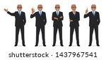 business man set different...   Shutterstock .eps vector #1437967541