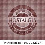 nostalgia red seamless emblem... | Shutterstock .eps vector #1438052117
