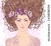 illustration of virgo... | Shutterstock .eps vector #143808034