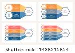business infographics. chart of ... | Shutterstock .eps vector #1438215854