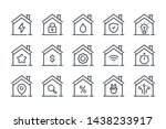 smart house related line icon... | Shutterstock .eps vector #1438233917