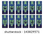 banners set with the european... | Shutterstock . vector #143829571