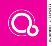 fuchsia os logo on pink...