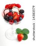 ice cream studio isolated on... | Shutterstock . vector #14383579