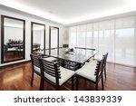 interior design  modern elegant ... | Shutterstock . vector #143839339