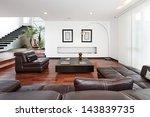 interior design  modern big... | Shutterstock . vector #143839735
