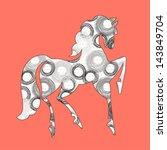 horse   Shutterstock .eps vector #143849704