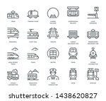 Rail Transport Icons   Monolin...