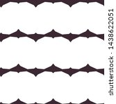 seamless vector pattern.... | Shutterstock .eps vector #1438622051