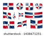 Various Flags Of Dominican...