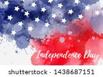 independence day holiday in...   Shutterstock .eps vector #1438687151
