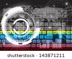 abstract background vector.eps... | Shutterstock .eps vector #143871211