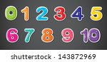 illustration of the eleven... | Shutterstock .eps vector #143872969