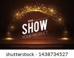 empty scene with magic... | Shutterstock .eps vector #1438734527