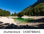Lago Del Predil  Small Mountai...