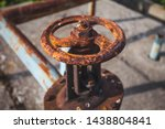 An Old Rusty Gas Control Valve...
