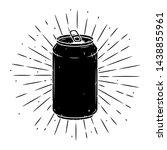 aluminum can. hand drawn vector ...   Shutterstock .eps vector #1438855961