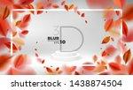 autumn fall nature abstract... | Shutterstock .eps vector #1438874504