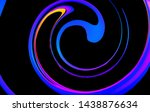 fluid abstract background.... | Shutterstock .eps vector #1438876634