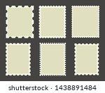 empty mockups of post marcs... | Shutterstock .eps vector #1438891484