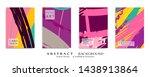abstract universal grunge art... | Shutterstock .eps vector #1438913864