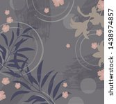 Floral Silk Scarf Pattern On...