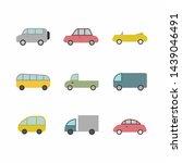 Car Transport Icon Sign...