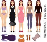 illustration of different... | Shutterstock .eps vector #143913751