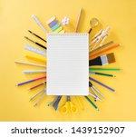 education  back to school...   Shutterstock . vector #1439152907