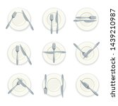Vector Images, Illustrations and Cliparts: Cutlery and signs of
