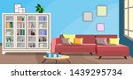 design of the room with a...   Shutterstock .eps vector #1439295734