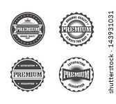 premium badge | Shutterstock .eps vector #143931031