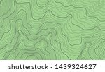 topographic map on green...   Shutterstock .eps vector #1439324627
