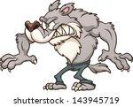 cartoon werewolf. vector clip... | Shutterstock .eps vector #143945719
