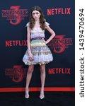 Small photo of LOS ANGELES - JUN 28: Natalia Dyer arrives for the Netflix 'Stranger Things' Season 3 Premiere on June 28, 2019 in Santa Monica, CA